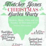 2014 Christmas Picnic in the gardens poster.  Designed by Nathan Pye