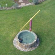 A beautiful photo of the wishing well taken with a drone camera by Matt Lanyon in 2015.
