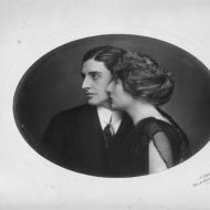 This picture of Franz and Elsa Burger is probably for their engagement in Vienna in 1923. Share by Ralph Jones Junior