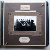 The first FJ staff photo with Lance Munday - Plus 8 Tailor second from right standing.  Scrapbook of Lance's granddaughter, Michelle Cust nee Munday