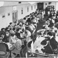 The Staff Canteen - 1949.  Photo: Jones Family Collection