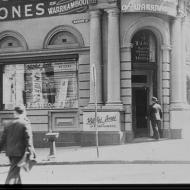 The first FJ retail store on the corner of Collins St and Market St.   Photo: Jones Family Collection.