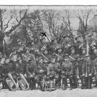 FJ with cornet in WW1 Band. Photo courtesy of Jones Family Collection