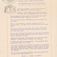 FJ Staff Bulletin detailing the 1963 win.  Shared by the Jones Family