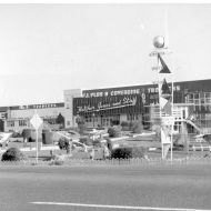 Another view of the sculpture in 1960.  Photo: Jones Family Collection
