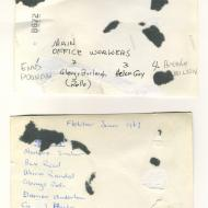 Back of Glenys Rollo photos.