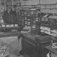 Inside the Man's shop in the late 30s.  Photo: Jones Family Collection