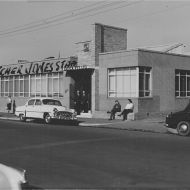 Lasica building in Brunswick in 1959. Photo: Jones Family Collection
