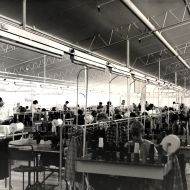 Skirt Sewing Room at FJs in 1965.  Photo: Jones Family Collection