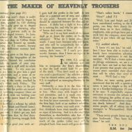 A very interesting read on FJs profit sharing philosophy from a longer article 'The Maker of Heavenly Trousers' written by Dick Merryweather in 1952.