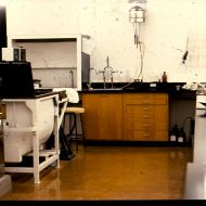 View of the FJ laboratory at Pleasant Hill factory. Photo: Jones Family Collection