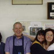 November, 2005. Fran, Don, Sue and Glenda - some of the last of the FJ staff at Pleasant Hill, Warrnambool. Photo: shared by Tim Carlton