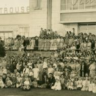 Christmas Party early 1950s. Photo: shared by Clare Trigg (nee Doecke)