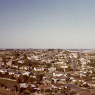 The view to the south east from the top of the Silver Ball in 1984. Photo: Gary Kelly