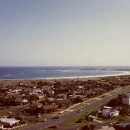 The view to the south west from the top of the Silver Ball in 1984.Photo: Gary Kelly