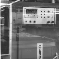 The Gerber System - a computer driven cloth cutter installed in 1975.  Photo: Jones Family Collection