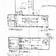 How I remember the floor plan of the bus - Tim Carlton