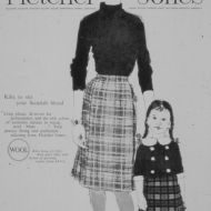 "Patrick Russell illustration - Kilt advertisement, 1960""s.  Image: Jones Family Collection"