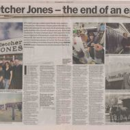The last remaining 12 staff told their story in the Warrnambool Standard article End of An Era published in November, 2005. Thanks to Tim Carlton for sharing the article from his scrapbook.