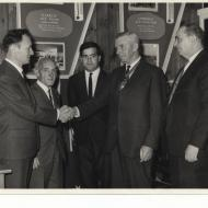 Gaetano Remine's citizenship ceremony was held in 1967 in the Fletcher Jones canteen.  Image shared by Gaetano Remine