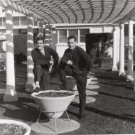 Gae and Nino - Italian tailors in the FJ Gardens - photo from Gaetano Remine
