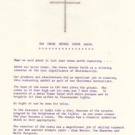The Cross Sines Forth Again - 1969 FJ Staff Bulletin.  Jones Family Collection